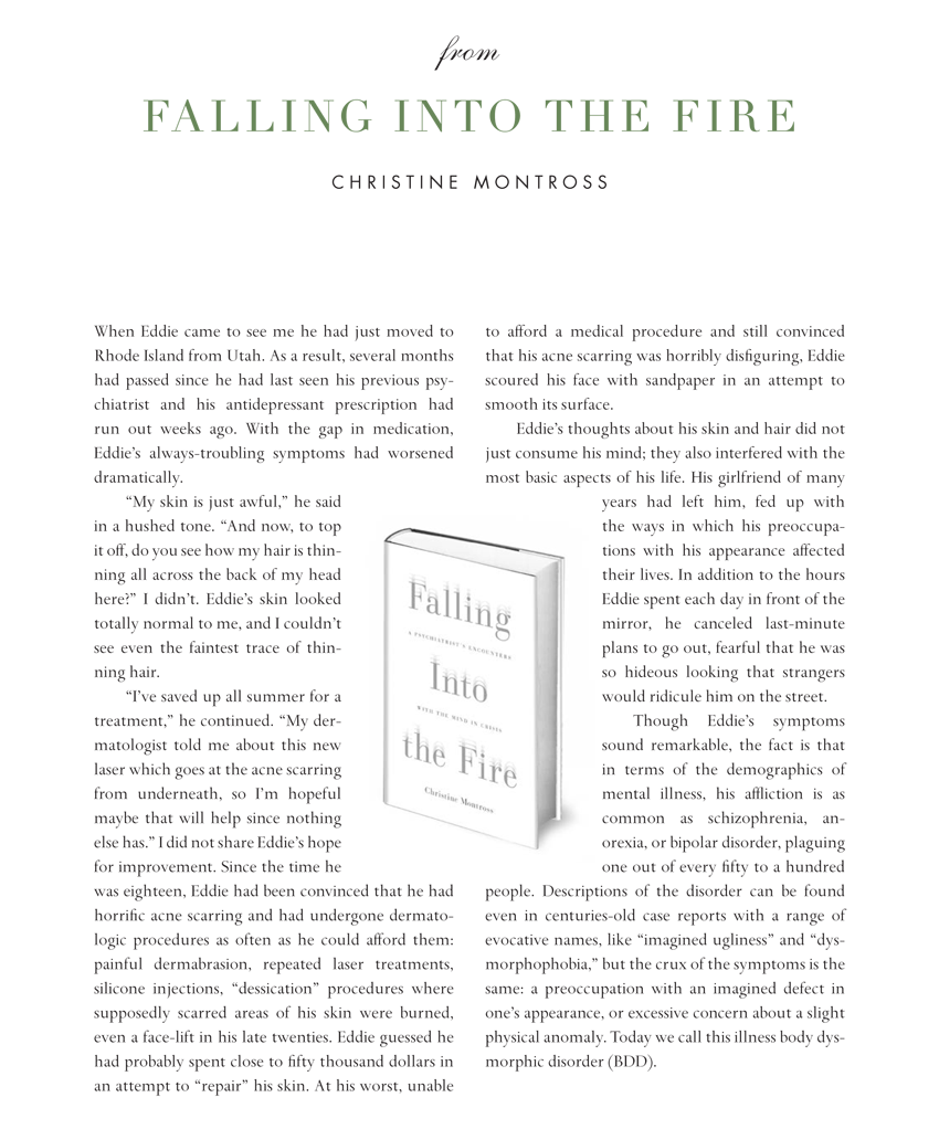Falling Into the Fire Excerpt